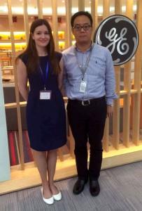 Associate Professor Julia Milner at the Suzhou Executive Academy in China
